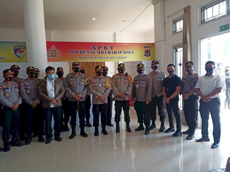 Kunjungan Kerja Kapolda NTT Di Mapolres Sumba Barat Daya