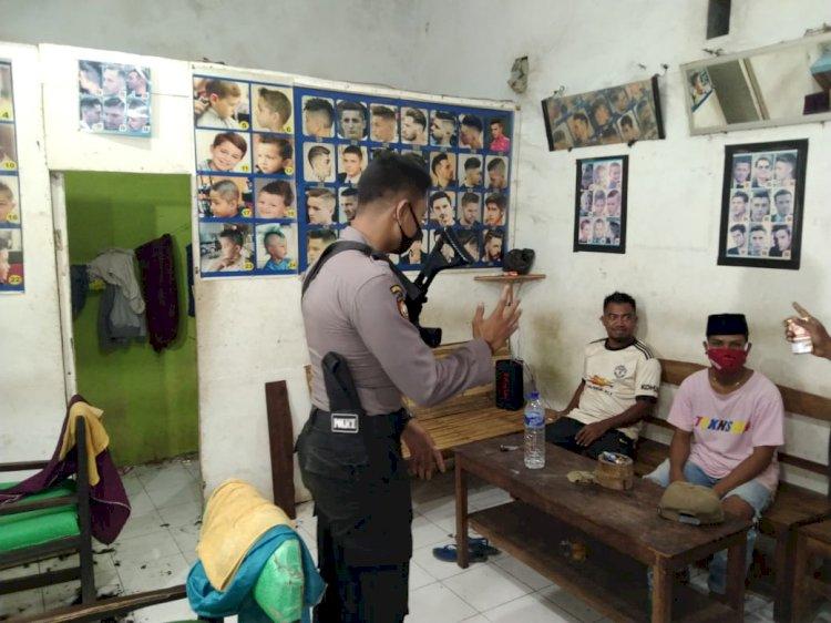 Tingkatkan Upaya Pencegahan Covid-19, Polres Sumba Barat Daya Rutin Laksanakan  Operasi Yustisi Aman Nusa II Tahap V (Lima)