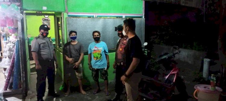 Antisipasi Bertambahnya Wabah Virus Corona Gabungan Personel Polres Sumba Barat Daya Rutin Laksanakan Operasi Yustisi Aman Nusa II Tahap VII