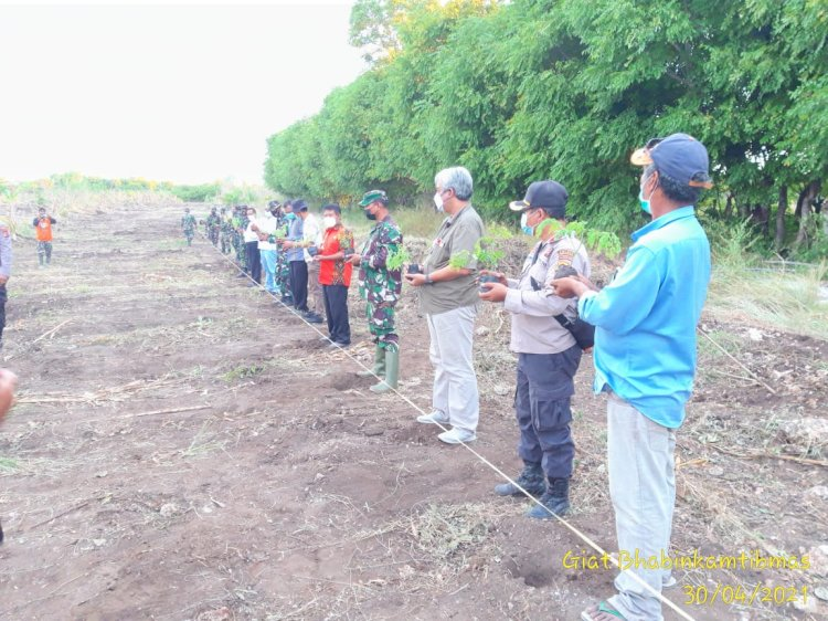 Pemberdayaan Lahan Pertanian Oleh Sinergitas TNI-Polri Bersama Pemerintahan Kab. Sumba Barat Daya Dan PT. Bumi Indah