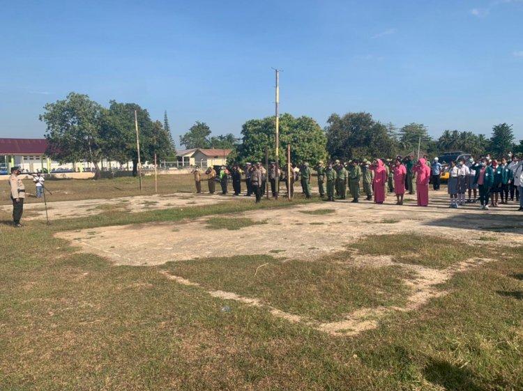 Wakapolres Sumba Barat Daya Pimpin Apel Launching Budaya Tertip Lalu Lintas Di Wilayah Hukum Polres Sumba Barat Daya