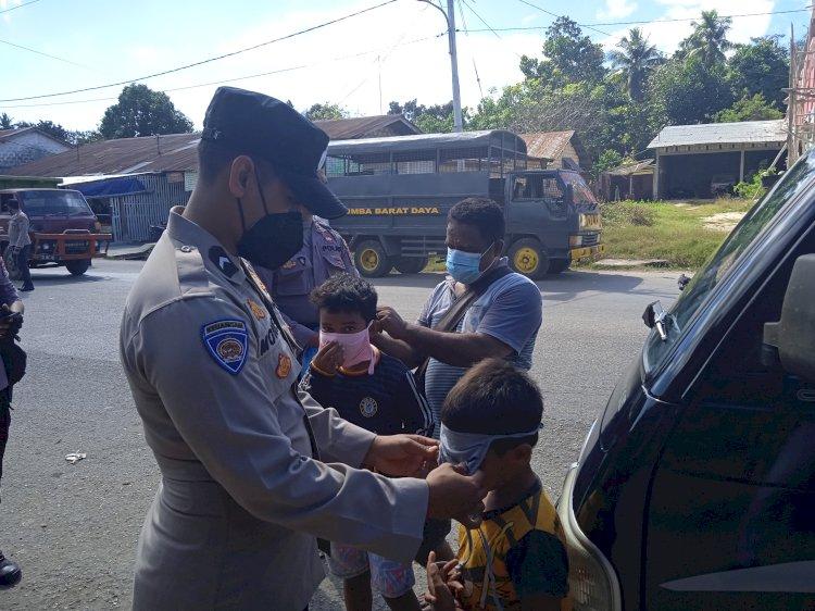 Patuhi Prokes PPKM, Polres Sumba Barat Daya Laksanakan Operasi KRYD